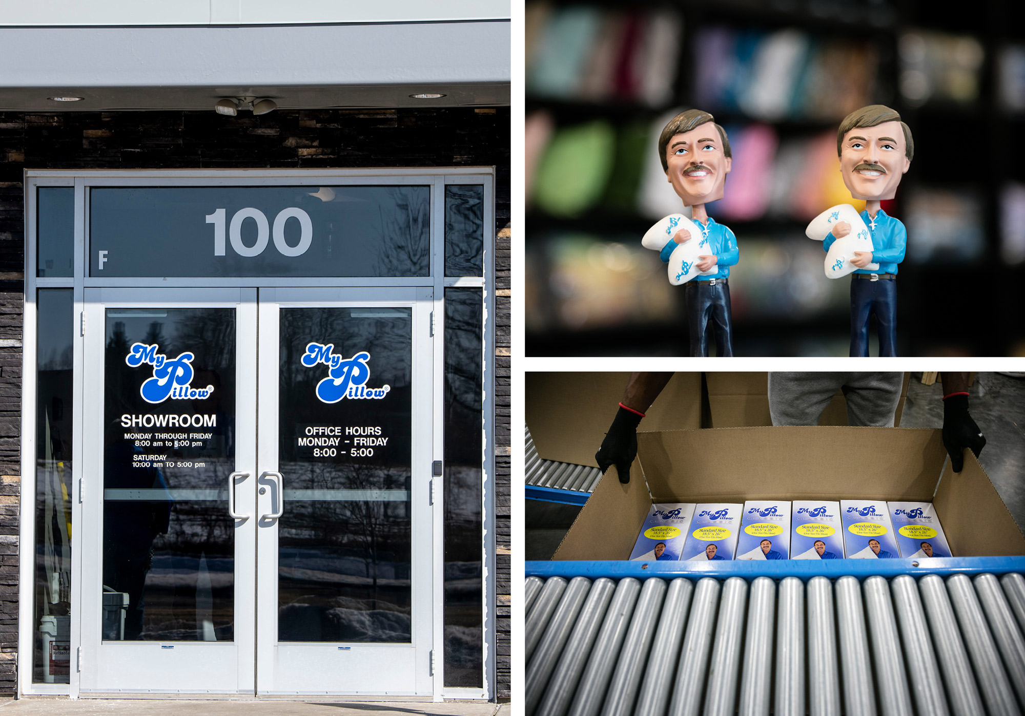Mike Lindell is the CEO of MyPillow, which, in addition to pillows, sells Lindell bobbleheads and Lindell's memoir.